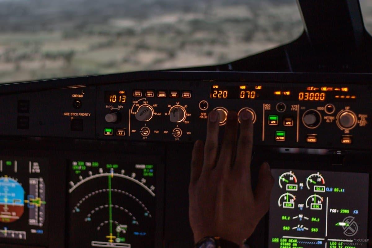 Symulator Airbusa A320