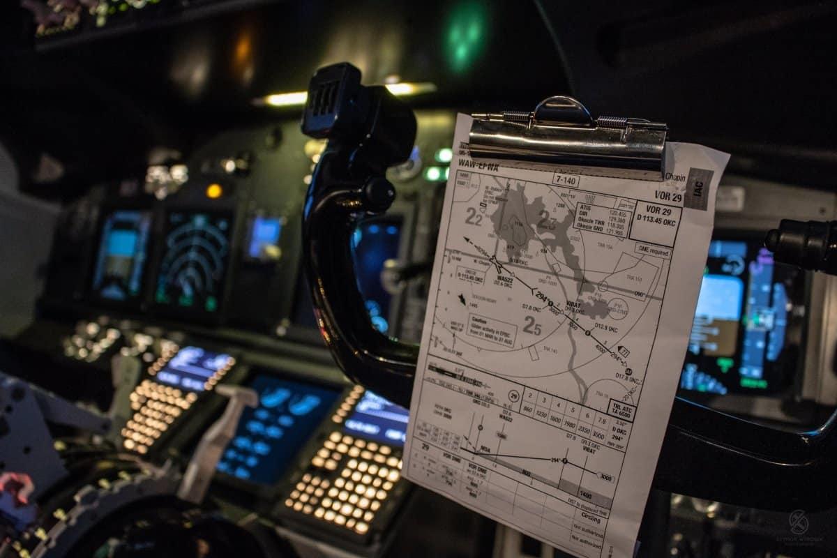Symulator Boeinga 737NG