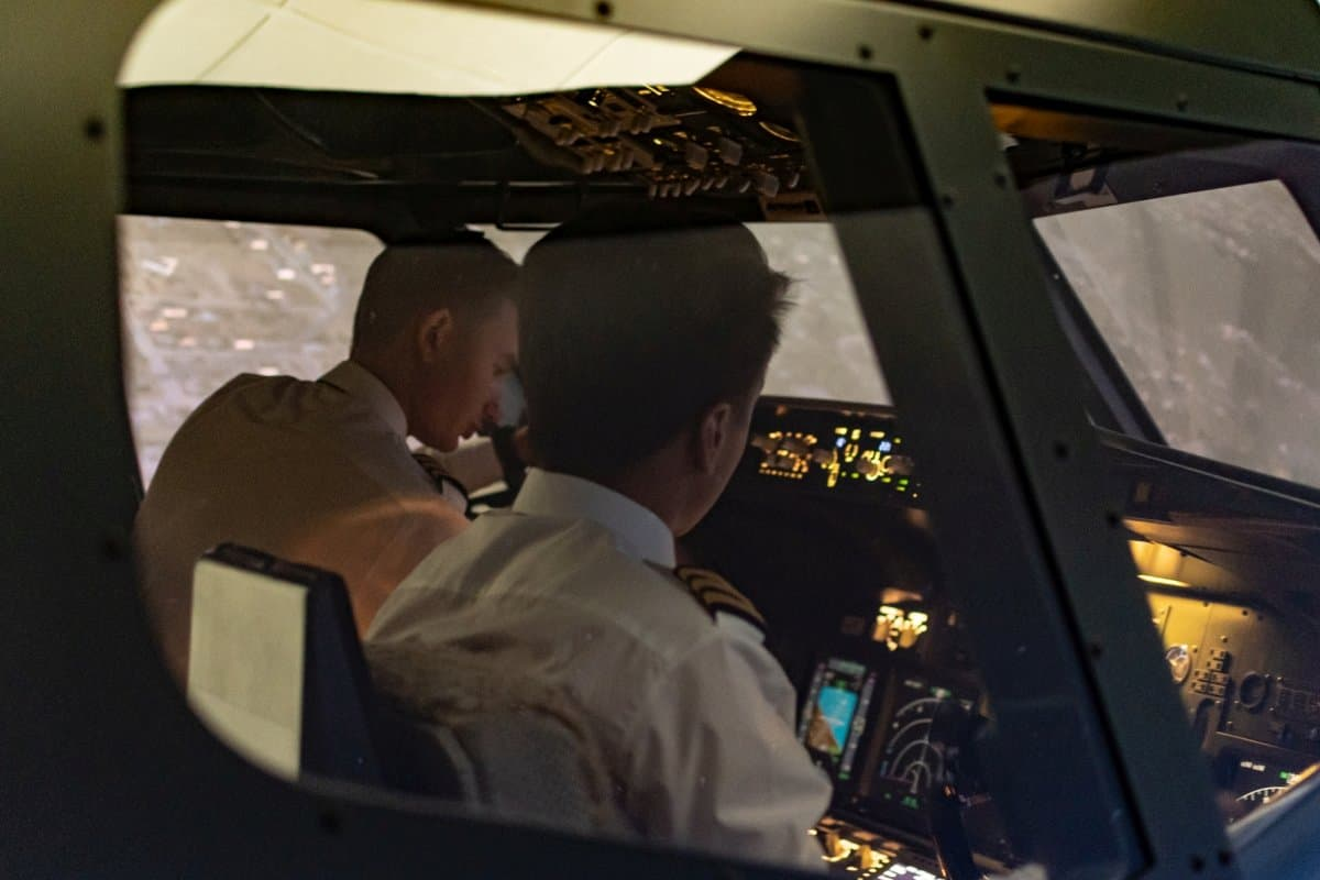 Symulator Boeinga 737