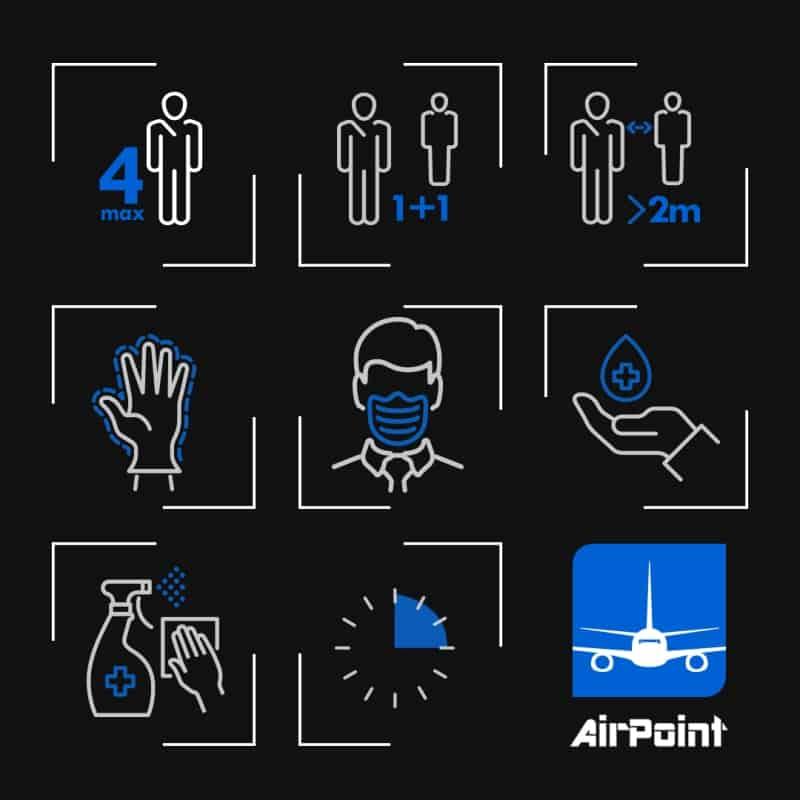 Covid-19   Zasady bezpieczeństwa   AirPoint