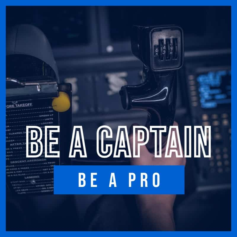 Be a Pro | Pakiet BE A CAPTAIN | AirPoint