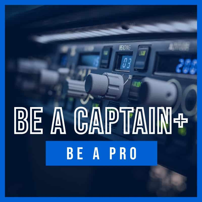 Be a Pro | Pakiet BE A CAPTAIN Plus | AirPoint